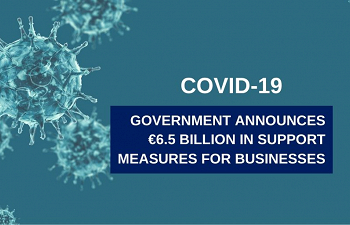 Photo for article Government announces €6.5 billion in support measures for businesses