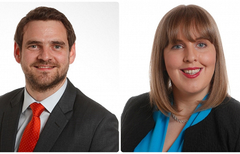 Photo for article Commercial Property Associates Cathal Hester and Sharon Pennick join our Galway office