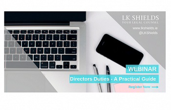 Photo for article Webinar - Directors Duties; A Practical Guide