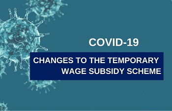 Photo for article Changes to Temporary Wage Subsidy Scheme