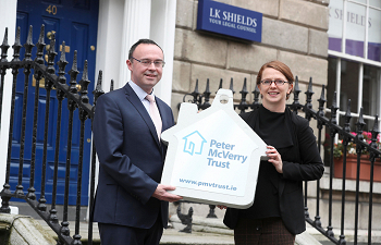 Photo for article LK Shields Solicitors launches charity partnership with Peter McVerry Trust