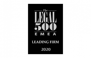 Photo for article Legal 500 2020