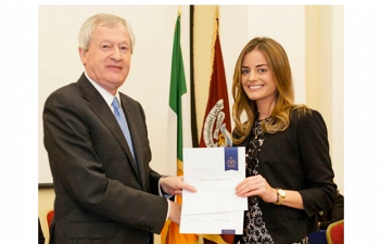 Photo for article Muireann Granville Awarded 1st Prize in the Law Society of Ireland Diploma in Sports Law
