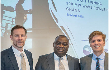 Photo for article LK Shields advise Seabased AB on West African 100MW Wave Power Plant