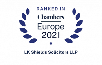 Photo for article LK Shields Ranks Highly in Chambers Europe 2021