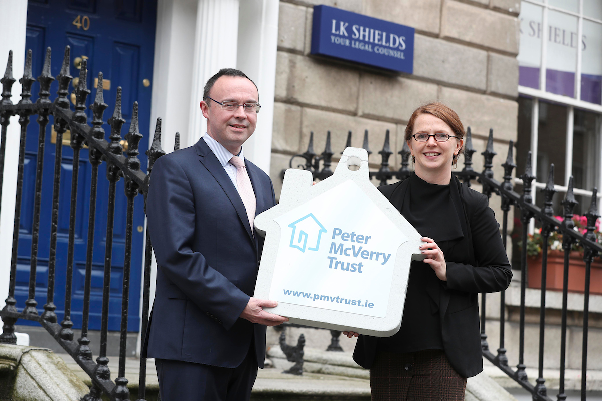 Photo to illustrate article https://www.lkshields.ie/images/uploads/news/LK_Shields_Solicitors_launches_charity_partnership_with_Peter_McVerry_Trust.jpg.