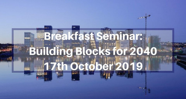 Photo to illustrate article Breakfast Seminar: Building Blocks for 2040.