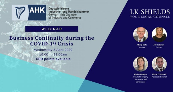 Photo to illustrate article Webinar: Business Continuity during the COVID-19 Crisis.