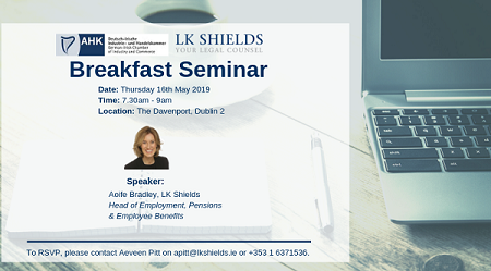 Photo to illustrate article Breakfast Seminar - Employment Trends 2019.