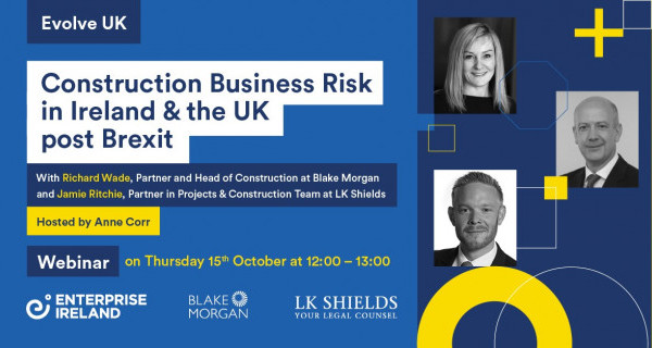 Photo to illustrate article Construction Business Risk in Ireland & the UK post Brexit.