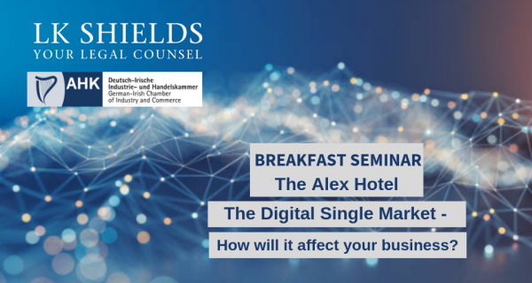 Photo to illustrate article Breakfast Seminar: The Digital Single Market - How will it affect your business?.