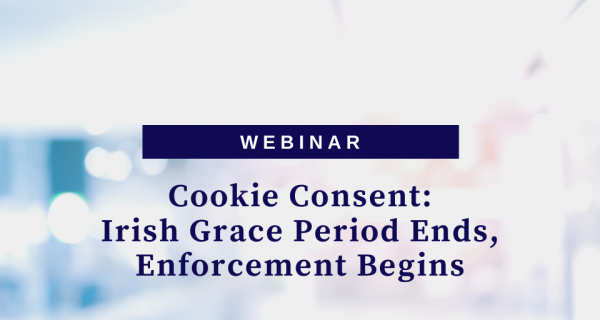 Photo to illustrate article Cookie Consent: Irish Grace Period Ends, Enforcement Begins.